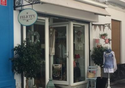 Tienda de ropa y complementos Felicity